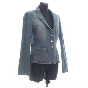 Moschino Jeans denim blazer/jacket